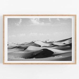 Sahara Dunes Morocco 2001 – Limited edition fine art print